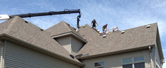 New Roof Installation Roofer